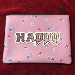 Coach Happy Large Clutch Pouch